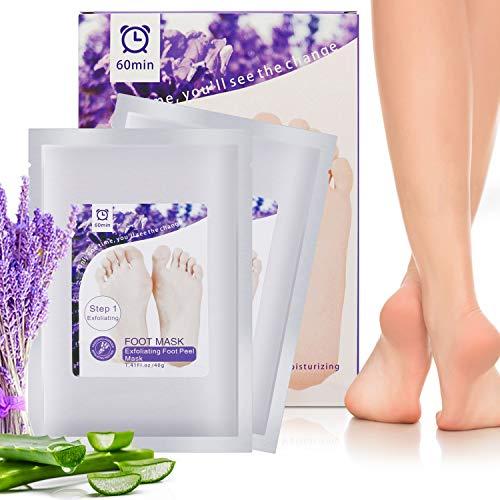Fußmaske Exfoliating Foot Maske Natural Ingredients Hornhaut Socken Entfernen abgestorbener Haut Fußbad Peel foot mask 2 Pcs Paar -