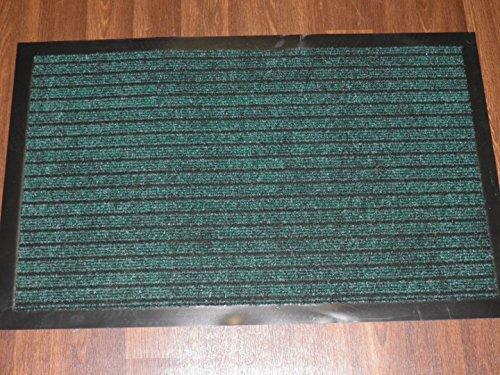 NEW ENTRANCE BARRIER DOOR MAT GREEN 50CM X 80CM