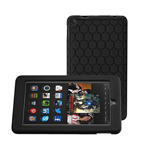 Bepack Hülle für Fire 7 2015,Silikon Leichtes Gewicht Langlebig Schutzhülle für Amazon Fire 7 Kids Edition Tablet (7