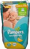66 Pampers Windeln New Baby-Dry Gr. 2, 3-6 Kg, Baumwolle weich