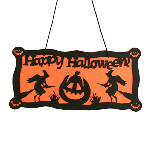 GGG Halloween Tür Fenster Dekor Anhänger Partys Aufhänger Stütze Hexe