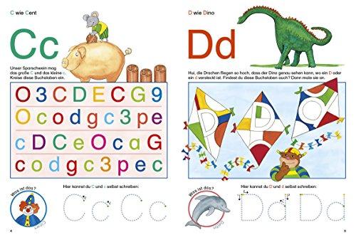 Fragenbär Vorschule: Buchstabenspiele und erstes Schreiben (Lerne mehr mit Fragenbär) - 4