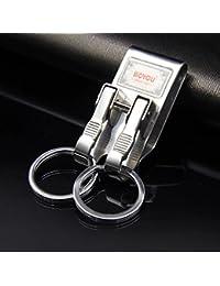 Fu Man Li Trading Company Acero inoxidable masculino de la cintura anillo doble anillo de coches A+