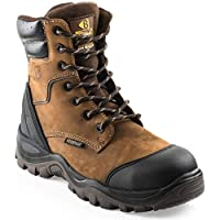 Buckler BSH008WPNM High Leg Waterproof Safety Work Boots Brown (Sizes 6-13) Men