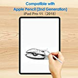 JETech 2-Pack Screen Protector for iPad Pro 11-Inch (2018 Release Edge to Edge Liquid Retina Display), Face ID Compatible, Tempered Glass Film Bild 3