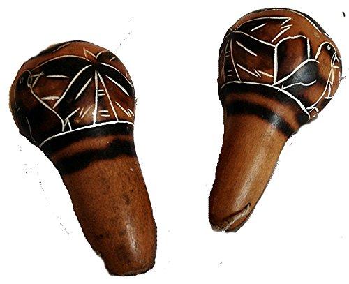 comercio-justo-amazonica-chaman-de-madera-calabash-mano-rattle-maraca