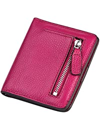 Charming Tailor Women Rfid Blocking Wallet Compact Leather Pocket Wallet Small Bifold Credit Card Holder - B06XY1PLTY