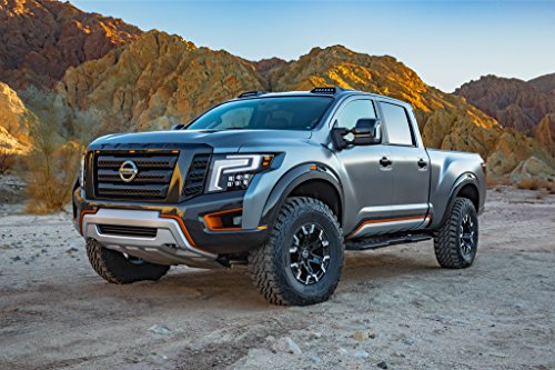 nissan-titan-warrior-concept-2016-truck-print-on-10-mil-archival-satin-paper-silver-front-side-stati