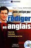 Image de Guide pratique pour rédiger en anglais (1Cédérom)