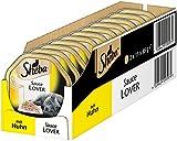 Sheba Adult Katzen-/Nassfutter, für Erwachsene Katzen Sauce Lover, mit Huhn in Sauce, 22 Schalen (22 x 85 g)
