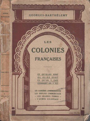 Les colonies françaises...