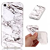 Coque iPhone 5c, SsHhUu Ultra Mince [Marbre Pattern] Flexible Caoutchouc Doux TPU...