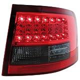 Dectane RA15LRBL LED Rückleuchten, Rot/Smoke