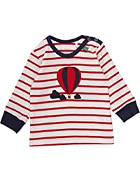 Fred's World by Green Cotton Baby Balloon Stripe T Baby T-Shirt