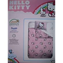 Hello Kitty Bettwäsche Teddy rose Gr. 135/200 Linon