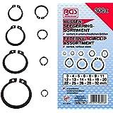 Bgs BGS-8046 - 8046 anillo seeger extranjera / retención surtido de anillo, 3-32mm, 300 piezas