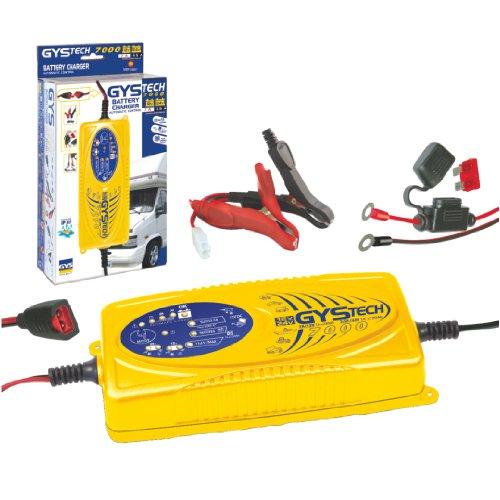 GYS Automatisches Batterieladegerät mit Erhaltungsladung 12/24 V, GYSTECH 7000