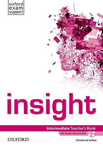 Insight Intermediate. Teacher's Book and Teacher's Resource Disk Pack