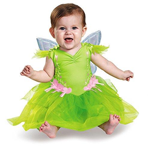 Tinker Bell Disney Baby Mädchen Halloween Karneval Fasching Kostüm (Kostüm Fly Mädchen 80's)