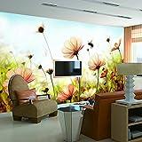 Acutray Green Garden Flower Schlafzimmer Bettsofa im Wohnzimmer TV-Wand Hintergrundbild Dekoration wallpaper große Wandmalereien