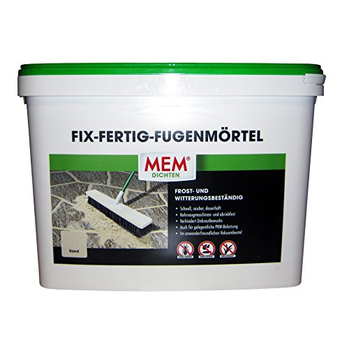 Mem Fix und Fertig Fugenmörtel, Sand, Keine Ameisen, Keine Pfützen 25 Kg