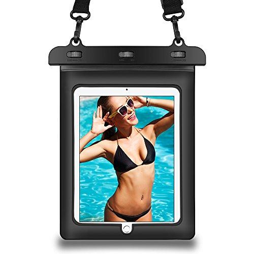 016) Wasserdicht Fall, SumacLife Schutzhülle Compact Leicht Wasserabweisend schmutzfest Tasche Tasche mit verstellbaren & Abnehmbare Kordel für Apple iPad Pro 9,7| iPad Air 2 ()