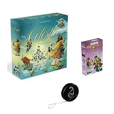 """Pack jeu Celestia+ Extension """"Coup de pouse, A little Help"""", BLAM + 1 Yoyo Blumie"""