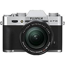 "Fujifilm X-T10 - Cámara EVIL de 16 MP (pantalla de 3"", LCD, 1080 p FHD, CMOS II) negro - kit cuerpo con objetivo Fujinon XF 18 - 55 mm f/2.8 - 4 R LM OIS"