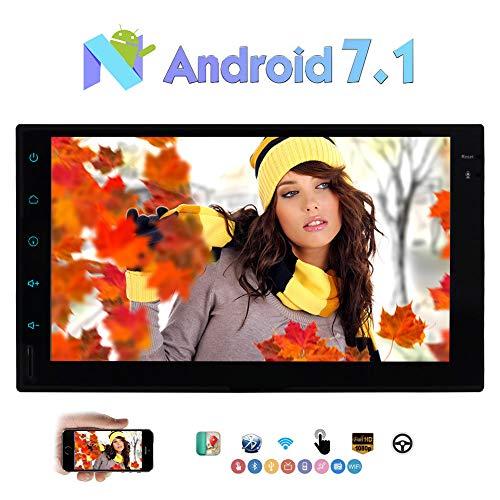 """Eincar 2 DIN autoradio Multimedia Player 7"""" con 1024 * 600 Android / 4G WIFI SWC OBD2 DAB + Cam-in 1080p Video Bluetooth 7.1 Octa Nucleo 2GB Radio GPS + 32GB Car Supporto Navi specchio collegamento"""