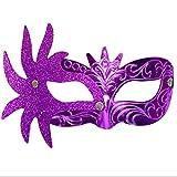 VJGOAL Damen Maske, Frauen Karneval Maske venezianische Maskerade Masken Kostüm Festival Party Spielzeug Verkleiden
