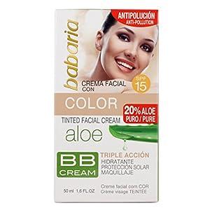 Babaria Aloe Vera Cr. Color Bb Cream Spf15 50 ml