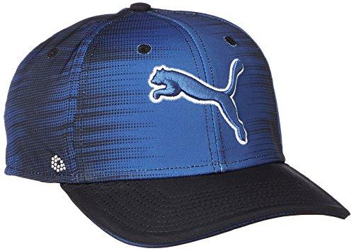 Puma Golf Hommes Go Time # 1 Cap - True Bleu/Puma Noir