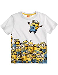 Minions Despicable Me Chicos Camiseta manga corta 2016 Collection - Blanco