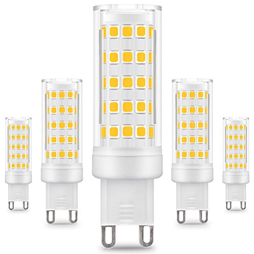 kindeep G9 Ampoule LED - 8 W/650lm 5x, Bianco Caldo
