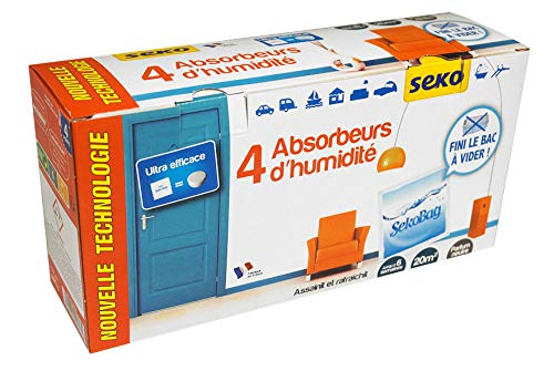 Seko R4 Sekobag N 4 Absorbeurs Sec Absence de rejet d'eau Innovation Française 2013