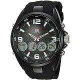 US Polo Association Analog-Digital Black Dial Men's Watch