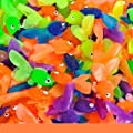 144 Vinyl Goldfish Assorted Colors Approx. 1 3/4 Long New from RI