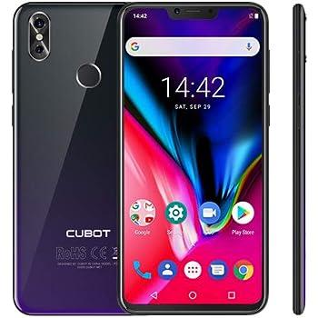 Cubot P20 4G Smartphone Android 8.0 4GB 64GB Muesca de 6.18 ...