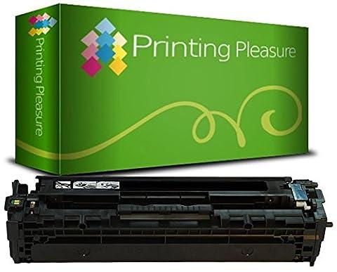 Printing Pleasure Compatible CF400X / 201X Toner Laser pour HP Color Laserjet Pro MFP M277DW/MFP M277N/M252DW/M252N - Noir