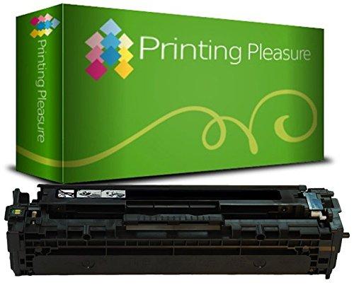 Preisvergleich Produktbild PRINTING PLEASURE Toner kompatibel zu 201X für HP Color Laserjet Pro MFP M277DW, MFP M277N, M252DW, M252N - Schwarz, hohe Kapazität