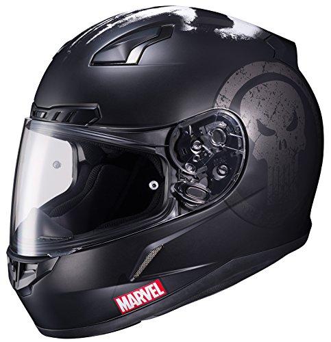 Hjc Helmets Marvel cl-17unisex Full Face The Punisher Street casco moto