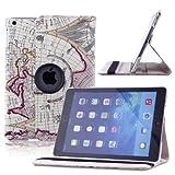 ParaCity Ultra-Slim iPad Air 2/iPad 6 Schutz Hülle Tasche Smart Cover Case Etui
