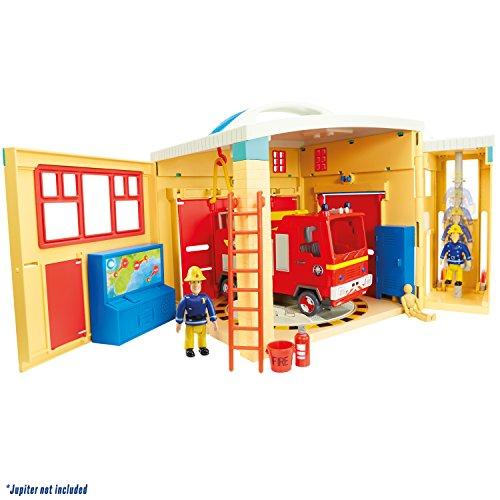 Image of Fireman Sam 05958 Sam Electronic Pontypandy Fire Station Toy