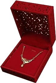 Packingoutlet 12 Pcs Pendant Earrings Necklace Chain Jewelry Box Storage Organizer