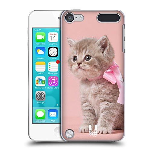 Head Case Designs Kätzchen Mit Rosa Fliege Katzen Ruckseite Hülle für iPod Touch 5th Gen / 6th Gen