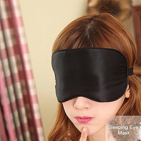 powerlead pmsk K002Masque de sommeil en soie naturelle Super Lisse Masque Masque de qualité supérieure pour masque