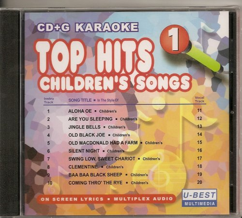 1 Kinder Karaoke CDG W/Guide Vocals Multiplex 10 x 10 Kid 's ()
