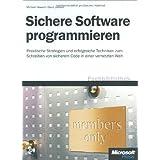 Sichere Software programmieren, m. CD-ROM