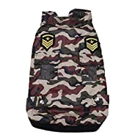 Beaulies Apparel Winter Camouflage Vest Apparel Pet Dog Coat Warm Puppy Cotton-padded Jacket Harness for Medium Large Dogs (XL)