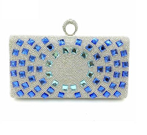 26543 Bague à Main Diamond Ladies Sac De Soirée Décoration De Robe De Mariée C